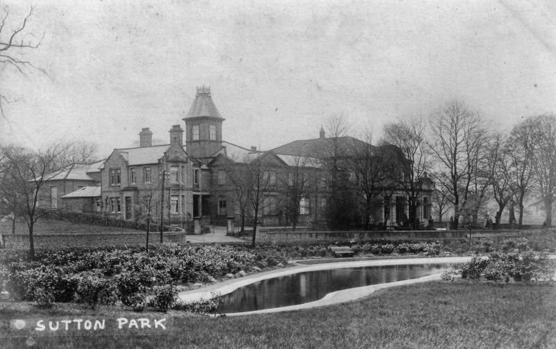 Sutton Baptist Chapel and Park c1912