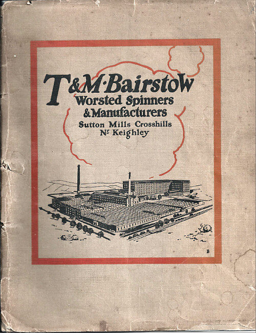 T M Bairstow Booklet 1920