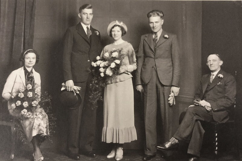 Wedding of Walter Pickles c1936