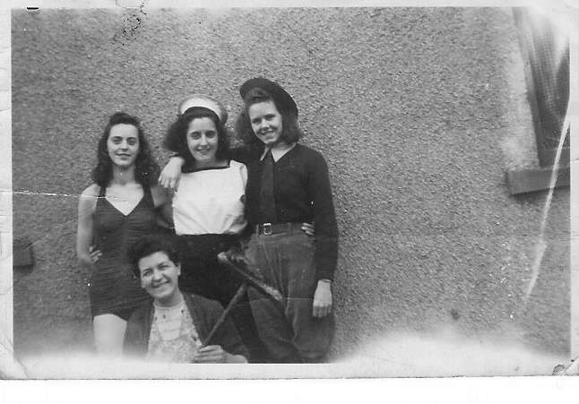 Hostel girls c1950