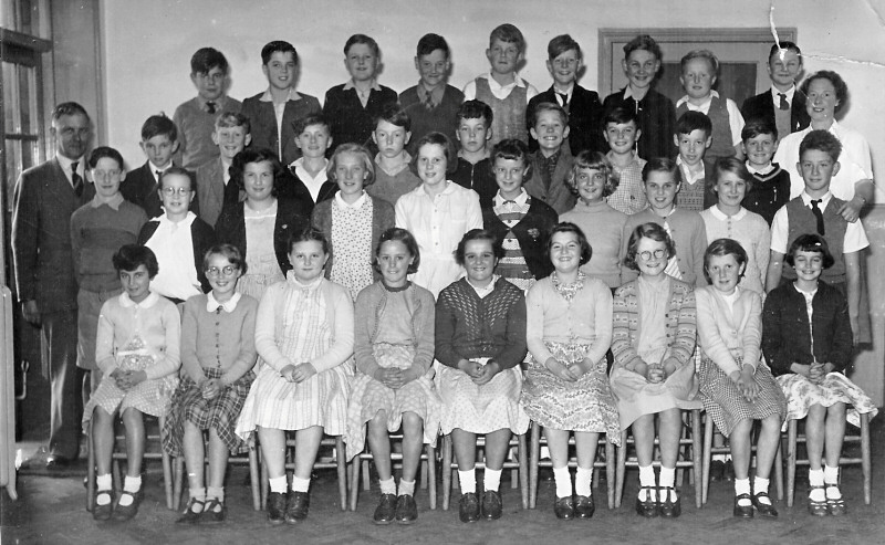 Glusburn Secondary School 1956