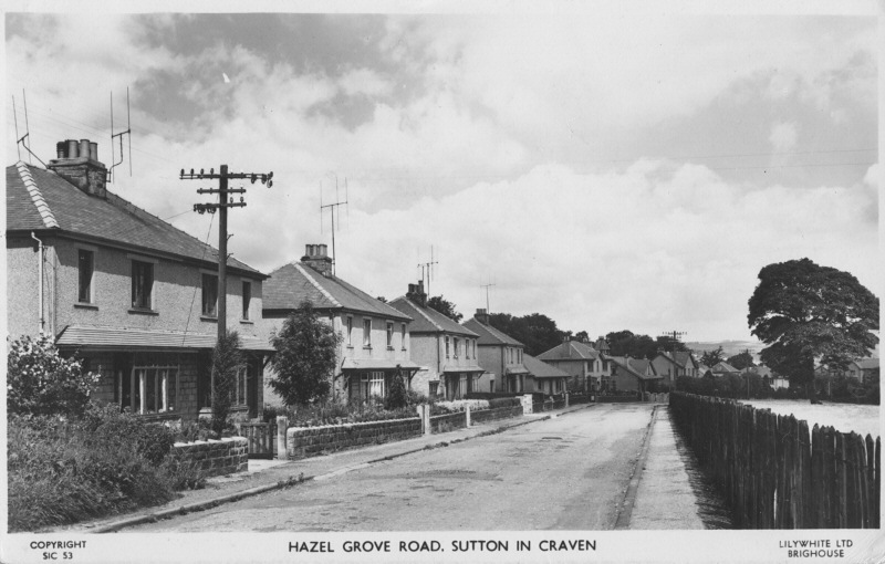 Hazel Grove Road c1960