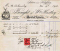 Hartley's Mill Receipt 1907