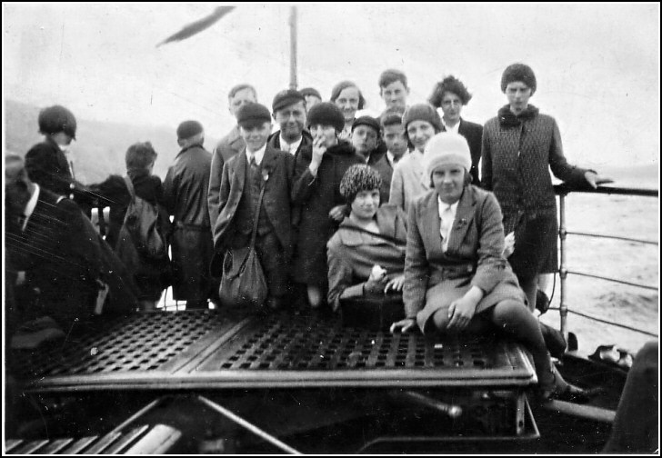 School Trip to Windermere 1930