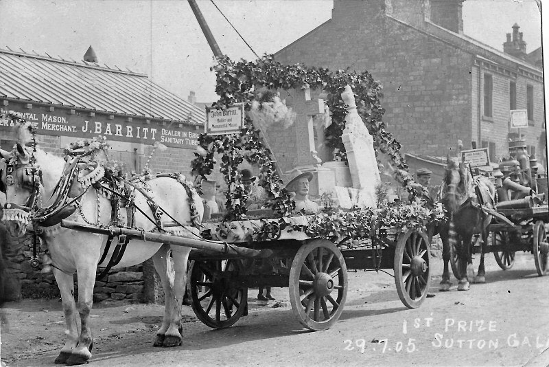 First Prize at Sutton Gala, 1905