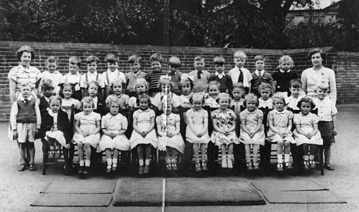 Sutton County Primary School class photo 1951