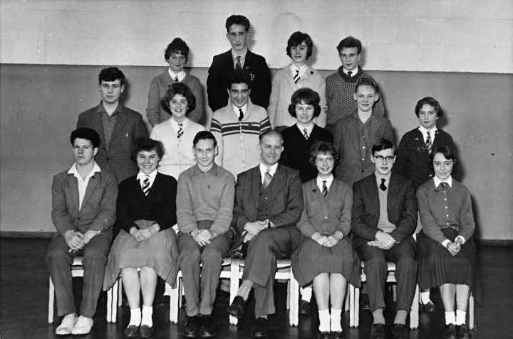 Mr Kay's class South Craven School 1961