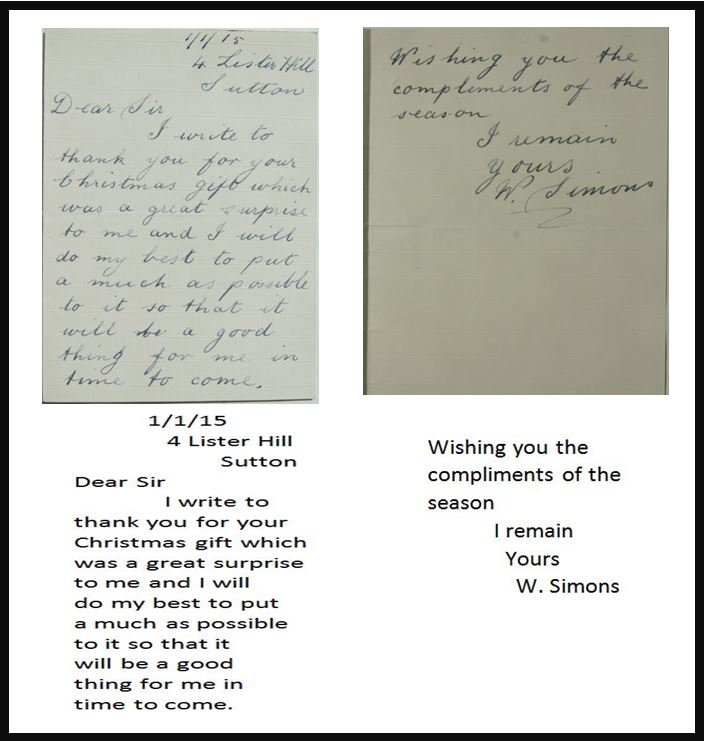 Letters Home 1914