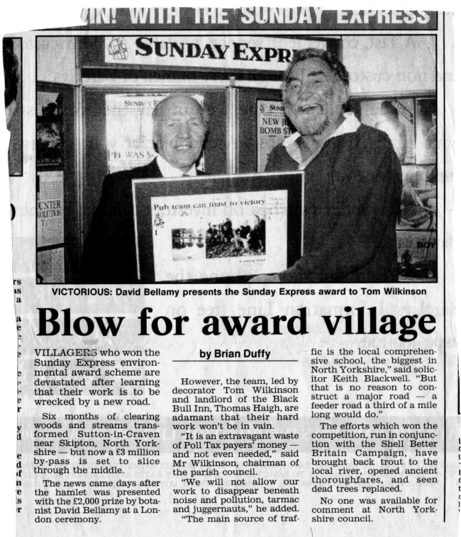 Better Britain Award 1990