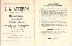 Cross Hills races 1949
