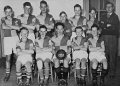Glusburn school football team 1955