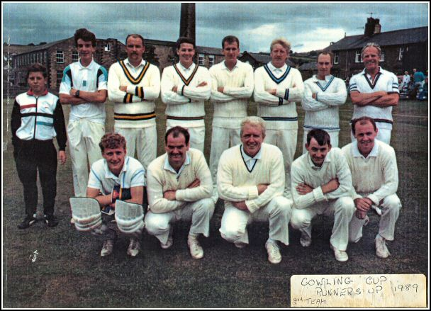 Cowling Cup Runners Up 1989 2nd Team