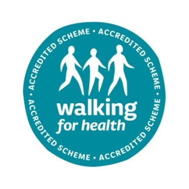 walking 4 health logo